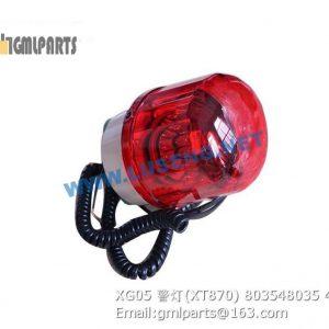 ,803548035 XG05 ALARM LAMP XT870
