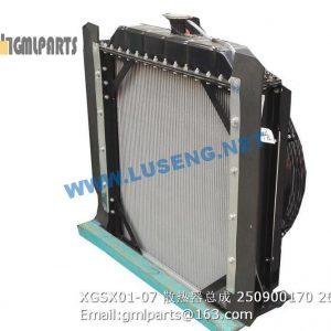 ,250900170 XGSX01-07 Radiator XCMG LW300FN