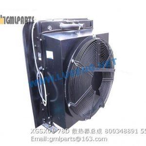 ,800348891 XGSX01-78D Water Radiator LW500FN