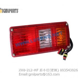 ,803543026 XH8-2L2-MF REAR LAMP XCMG