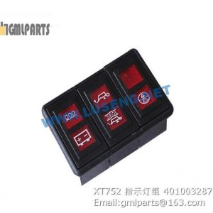 ,401003287 XT752 LAMP XCMG