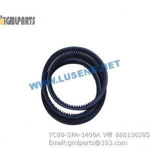 ,860136395 YC80-SPA-1400A BELT XCMG YUCHAI