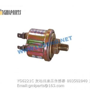 ,803502840 YG6221C ENGINE OIL PRESSURE SENSOR