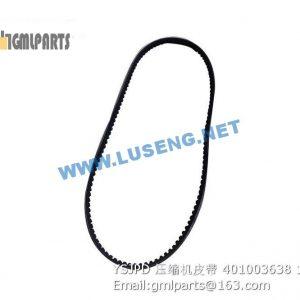 ,401003638 YSJPD air compressor belt