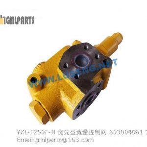 ,803004061 YXL-F250F-N Priority valve
