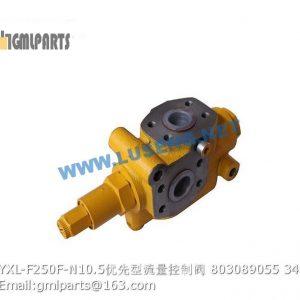 ,803089055 YXL-F250F-N10.5 priority valve xcmg