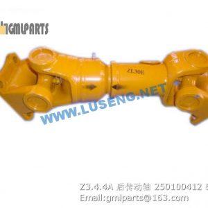 ,250100412 Z3.4.4A rear drive shaft xcmg lw300fn