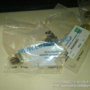 ,Z320220060 Unpowered braking valve plug  SEM WHEEL LOADER SPARE PARTS