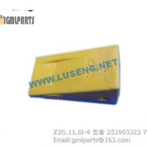 ,251903323 Z3G.11.8I-4 TIP XCMG