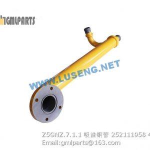 ,252111958 Z5GNZ.7.1.1 TUBE XCMG