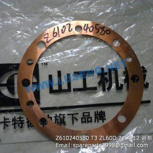 ,Z610240580 T3 ZL60D.24.4-12 SHIM SEM SPARE PARTS