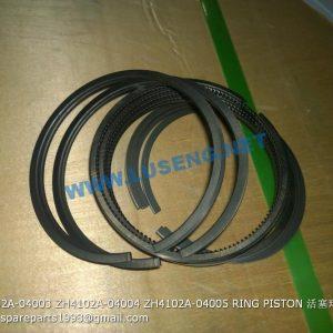 ,ZH4102A-04003 ZH4102A-04004 ZH4102A-04005 RING PISTON
