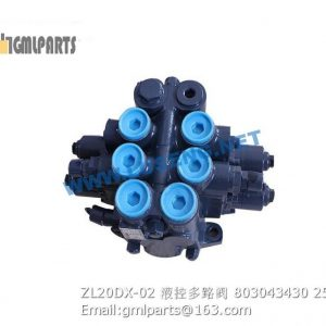 ,803043430 ZL20DX-02 CONTROL MULTIPLE VALVE