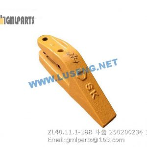 ,250200234 ZL40.11.1-18B BUCKET TOOTH