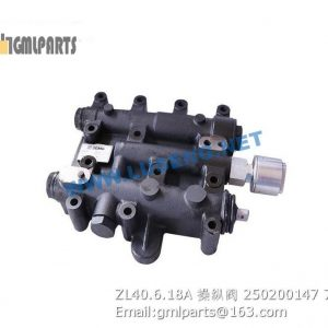 ,250200147 ZL40.6.18A Transmission Control Valve Assy