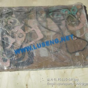 ,gasket set F6135-DP shangchai 6135k engine parts repair kits